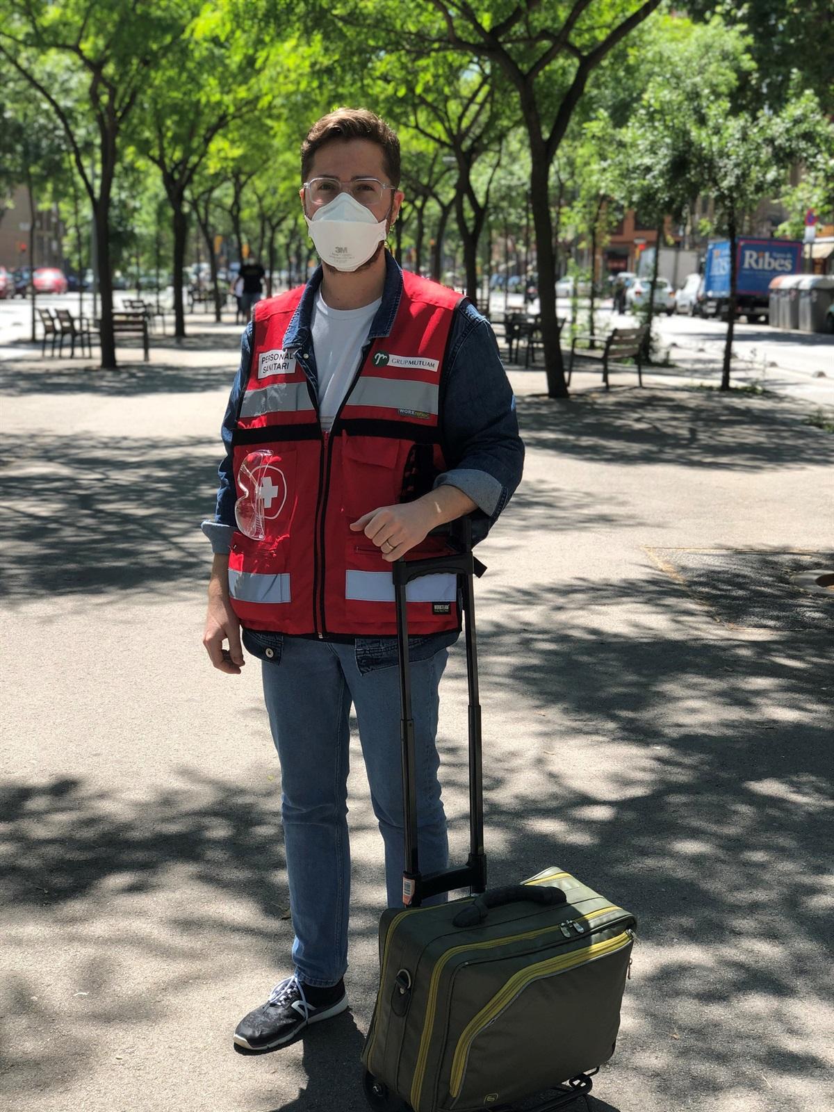 Enric Martínez: «Un dels reptes a PADES ha estat donar la millor assistència pal·liativa amb el menor temps possible»