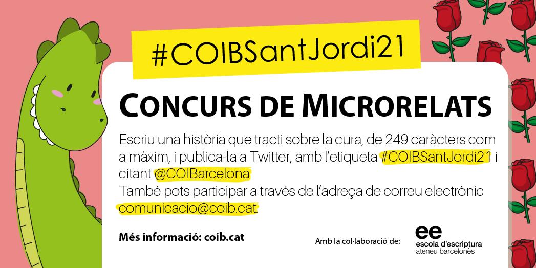 El COIB convoca un concurs de microrelats sobre el concepte de cuidar