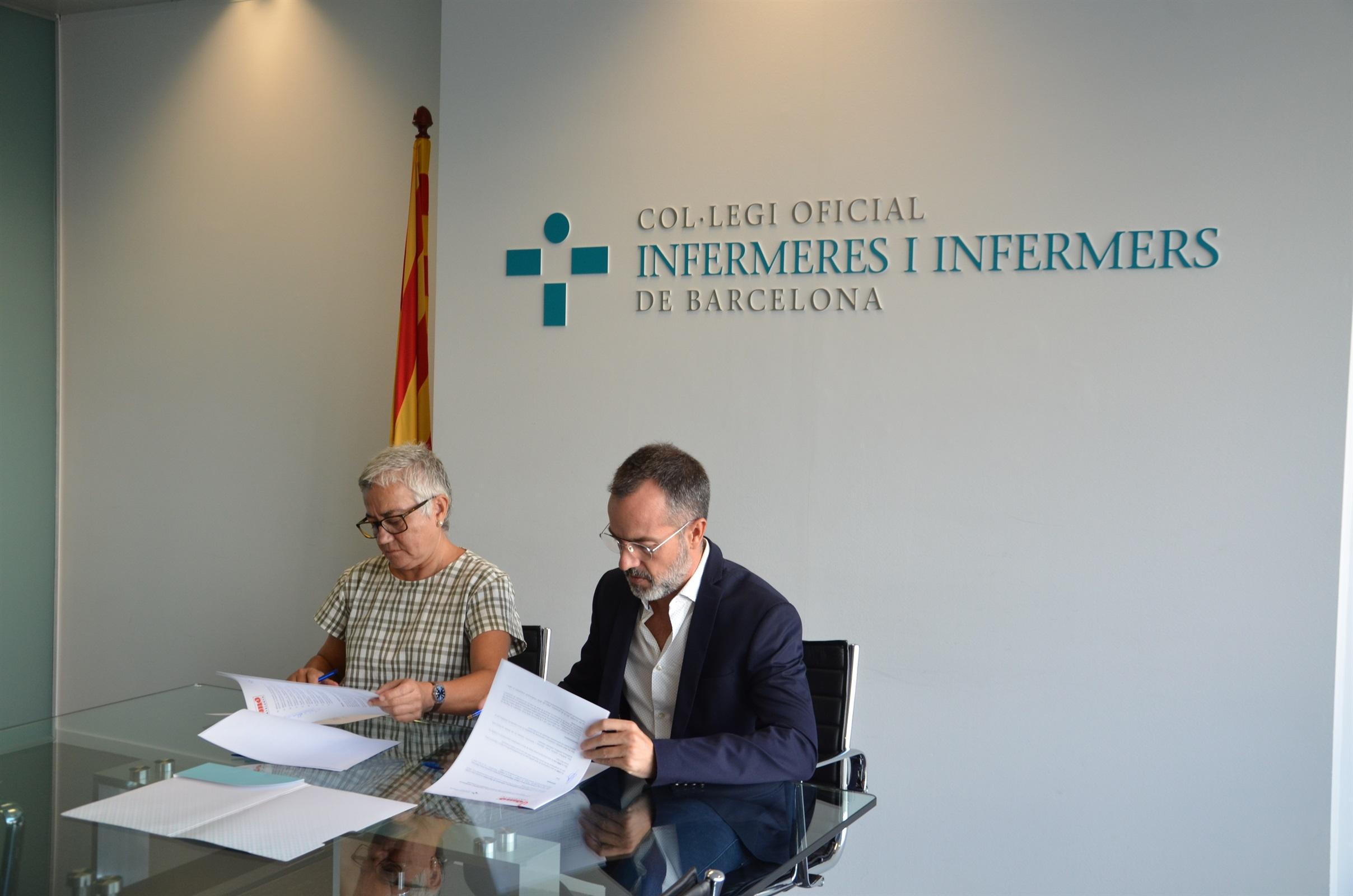 El COIB i DMD Cat uneixen esforços per potenciar el coneixement i la formació de les infermeres vinculades als processos de final de vida